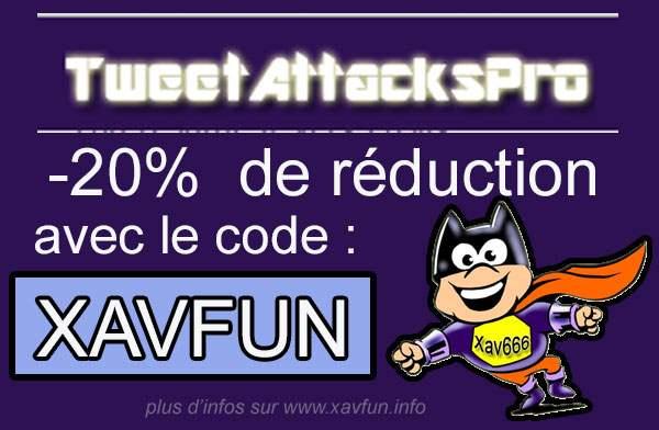 code promo TweetAttacksPro
