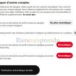 instagram sur pinterest