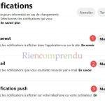 notifications